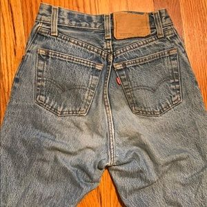 The best and tiny pair of vintage Levi's levis 501